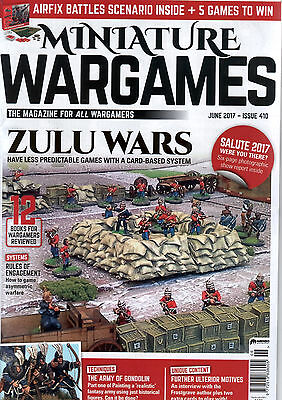 Miniature Wargames June 2017 (#410) with Salute Report (1 of 2)
