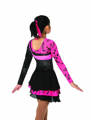 New Jerrys Competition Skating Dress 41 Pop Of Pink Made on Order