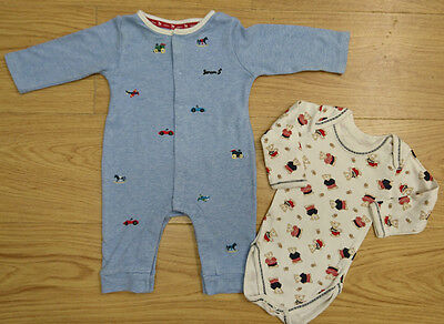 Jasper Conran In Extenso Baby Boys Romper Bodysuit Age 3-6 Months Playsuits