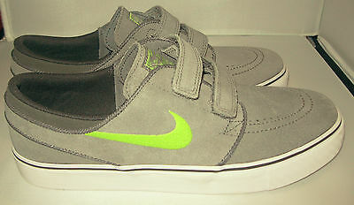 New Nike Stefan Janoski AC (GS) Sneakers Skater Shoes Cool Grey Youth Size Y 7