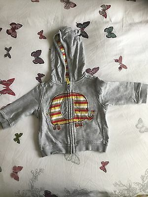 Boys Hooded Jacket Age 6-9 Months