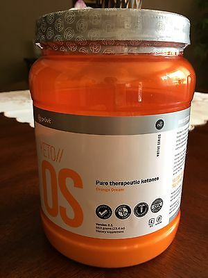 Keto OS 2.1 Orange Dream by Pruvit Caffeine Free 30 Servings