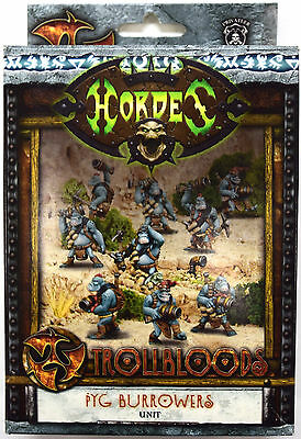 Hordes Trollbloods Pyg Burrowers Unit PIP 71081 - NEW