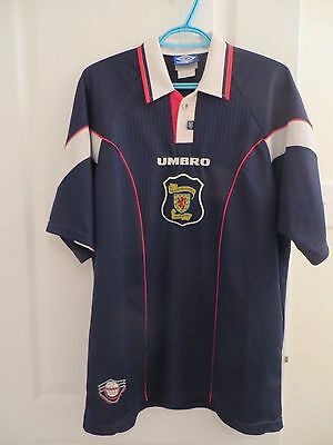 Scotland Vintage 1996/1998 Home soccer jersey football shirt umbro XL