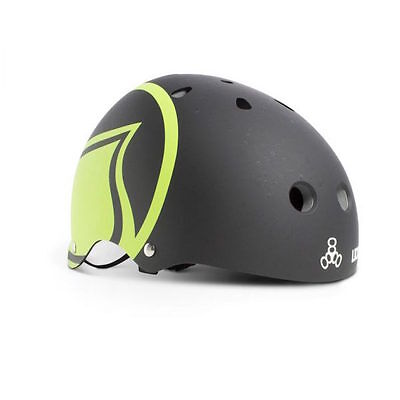 Liquid Force Hero Kiteboarding/Wakeboarding Helmet - Black/Green - MEDIUM/LARGE