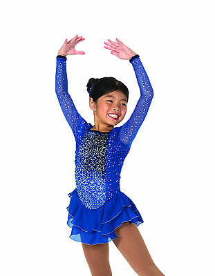 New Jerrys Figure Skating Dress 22 Sapphires on Ice Dress Made on Order