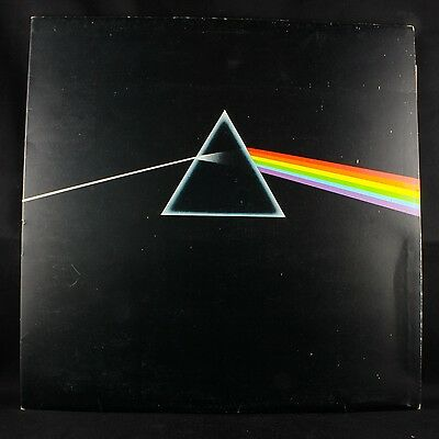 Pink Floyd Dark Side Of The Moon 1973 Harvest Shvl 804 A5/b5 Uk Press Gatefold!!
