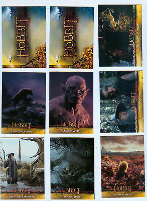 Thirty Nine (39) Common Base Cards - Hobbit: Desolation of Smaug