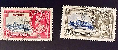 Three Stamps From Antigua