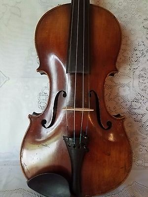 Very Old Antique Violin  4/4 Size  Nicolaus Amatus Cremona  Lable