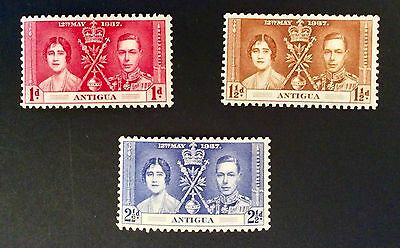 Three Stamps From Antigua - G Vi R