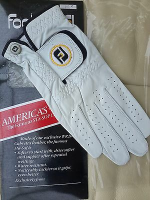 Ladies Size 24 M (R) *BNWT*  Leather  'STA-SOF' Foot-Joy Golf Glove