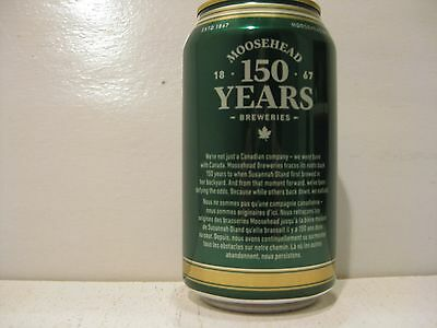 Moosehead Breweries Anniversary ale 150 yrs canada birthday limited release 12oz
