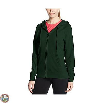 Fruit Of The Loom Tg: 50 Green Ss099M Cappuccio Donna 50 Nuovo