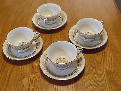 royal thistle cup & saucer occupied japan