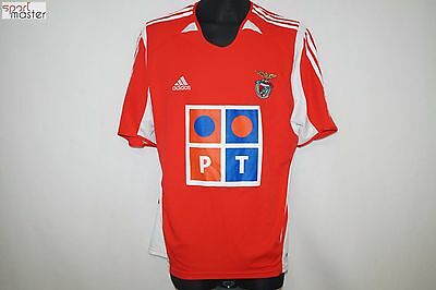 SL Benfica 2005 - 2006 Home Adidas Football shirt SIZE XL