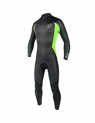 NEW NP Edge Wind Fullsuit 5/4mm Kitesurfing, Kiteboarding - Medium Tall
