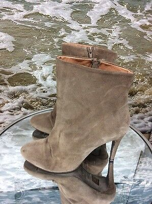 FREE PEOPLE Women's Slouch Suede Ankle Boot: Size 41: Brown