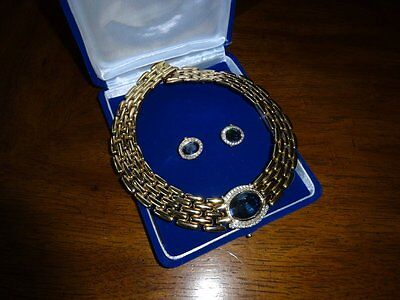 "Vintage    ""givenchy"" Necklace With Earings"
