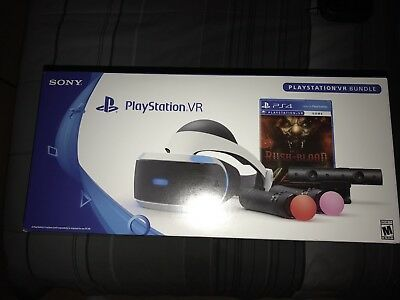 Brand New Sony PlayStation VR Headset Until Dawn Bundle Limited Edition