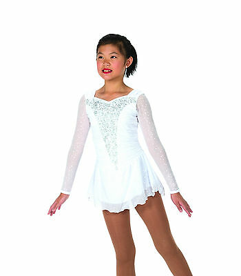 New Jerrys Competition Skating Dress 30 Snow Swept Dress Made on Order