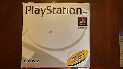 Playstation 1 System PS1 Fat Console Original Box w/ accessories, controller PS1