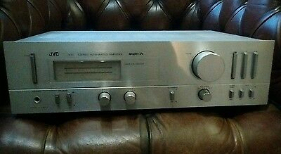 JVC-A-X1 Stereo Integrated Amplifier Vintage Hi-Fi Separate Phono Amp - SUPER-A