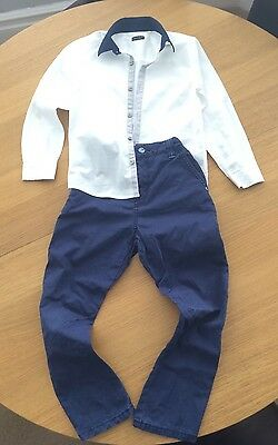 Boys Trousers And Shirt Next 7 Years