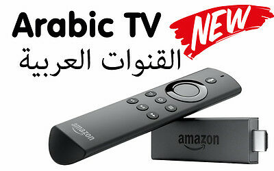 Arabic TV Channels on Amazon Fire TV Stick IPTV for 1 Year  - القنوات العربية