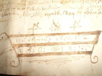 1709 Vellum Document, Knapdale, Argyll, Scotland, A-Grade