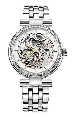Kenneth Cole Women's Automatic Silver Tone Watch KC4996