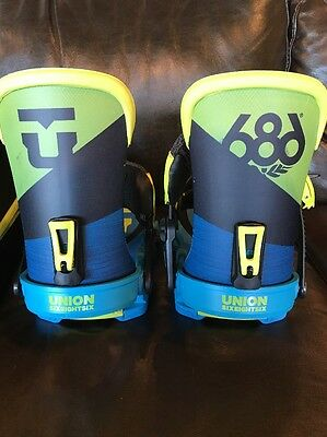 Union X 686 Bindings M/L New With Tags