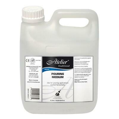 Atelier Traditional - Pouring Medium (Puddles & Skins) - Huge 4 Litre