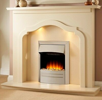 FIREPLACE AND FIRE OFFER - Surround, Marble Set and Electric OR Gas Fire!!