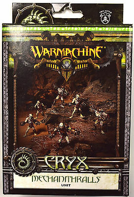 Warmachine Cryx Mechanithralls Unit PIP 34019 - NEW