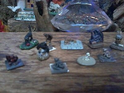 10  Vintage Dungeons & Dragons 70s 80s Miniatures