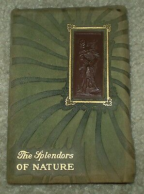 1886, 1St Ed, Poetry, The Splendors Of Nature, Leather Binding, Chadwick