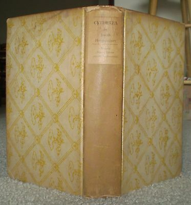Rare, 1921, 1St Ed, Limited To 100 Copies, Cytherea, Joseph Hergesheimer