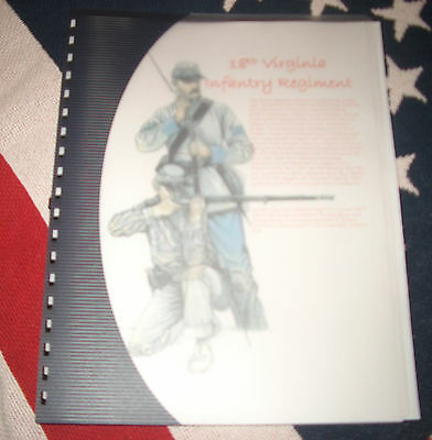 Civil War History of the 18th Virginia Infantry Regiment