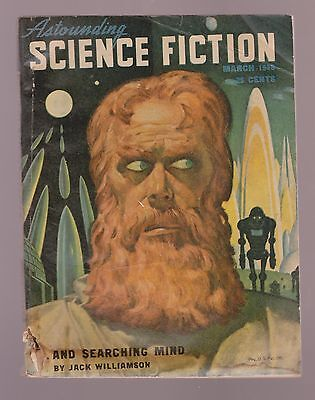 Astounding Science Fiction March 1948 Isaac Asimov Murray Leinster DeCamp