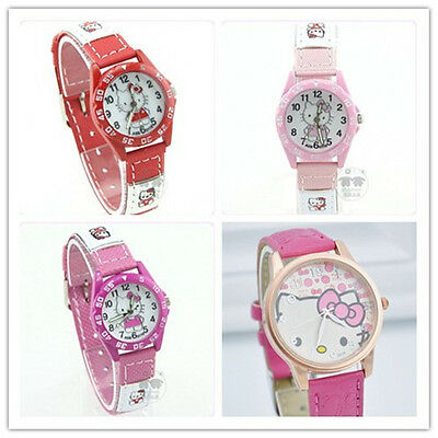 Brand New Kids Girls - Hello Kitty - Watch (3 Designs, 4 Colours) Perfect Gift