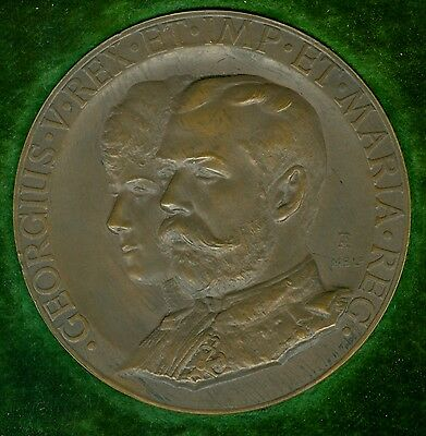 1911 British Medal Issued for the Coronation of King George V, by A. Toft