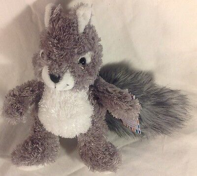 "(10) Sassy Squirrel 8"" by Princess Plush Soft Toys New with TAGS Free Shipping"