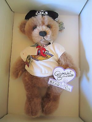"Annette Funicello Wednesday Mousebear 10"" Bear with Box & COA -LMT.ED. 150/3000"