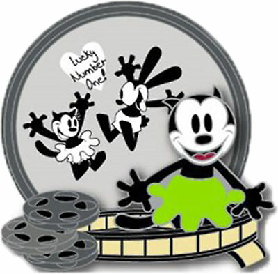 Disney D23 Expo 2017 Oswald the Lucky Rabbit 90th Box Lucky Number One 3D LE Pin