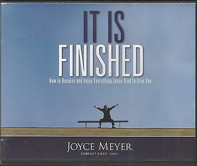 IT IS FINISHED               5 CDs        Joyce Meyer