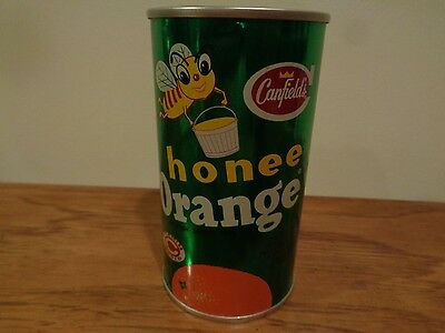 Vintage Canfield's Honee Orange 12 OZ Can