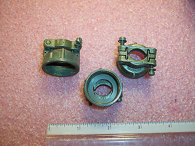Qty (3) Ms3057-10A Amphenol Cable Clamps Sz 18  Nos