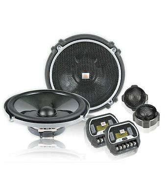 "NEW! JBL GTO608C 420W 6.5"" 2-Way Grand Touring GTO Component Car Speakers System"