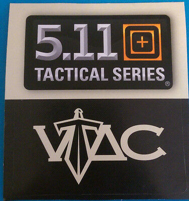 Authentic Rare 5.11 Tactical Series - VTAC Large Sticker Decal